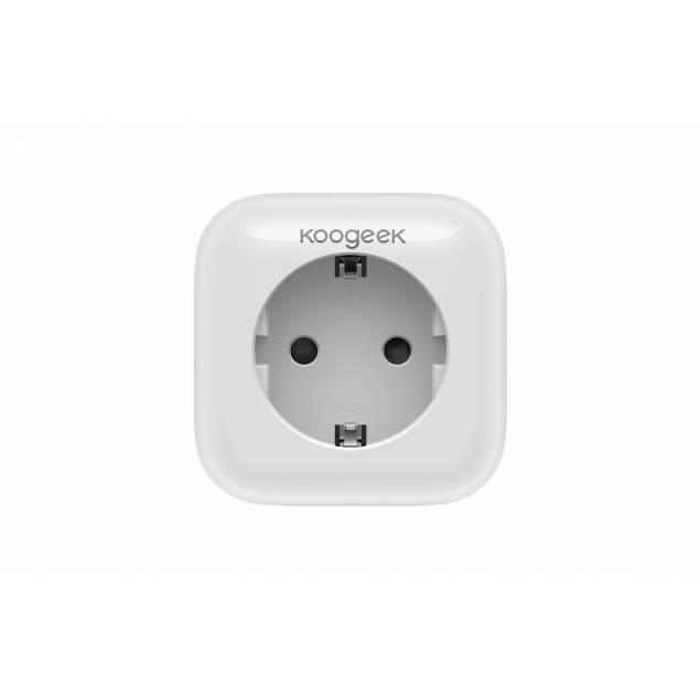 Koogeek Smart Plug stikkontakt med HomeKit, Alexa og Google Home (P1EU)