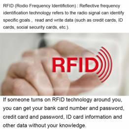 RFID/NFC blokerings lomme til kreditkort