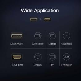 DisplayPort til HDMI hun adapter Ugreen