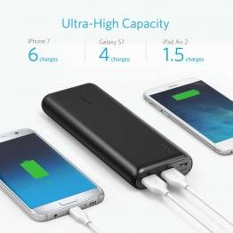 Anker PowerCore Speed 20000 mAh powerbank Quick Charge 3.0 sort