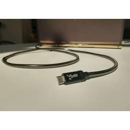 LIFEPOWR 100W USB-C Power Delivery og data USB-C kabel 1m