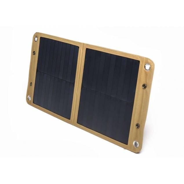 LIFEPOWR SUN20 solcellepanel med QC 3.0, USB-C og DC output