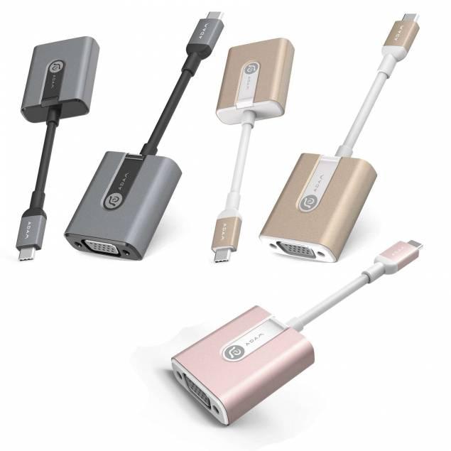 Adam Elements CASA V01 USB-C til VGA adapter