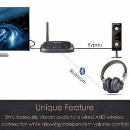 Avantree Oasis Plus Bluetooth lyd modtager og sender