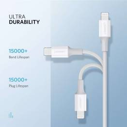 Ugreen USB-C til Lightning kabel MFi 1m