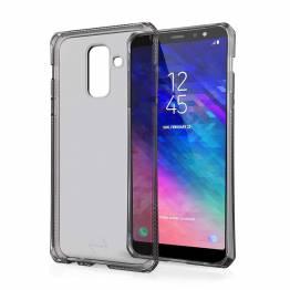 ITSKINS Cover til Samsung Galaxy A6+ Gennemsigtigt Sort