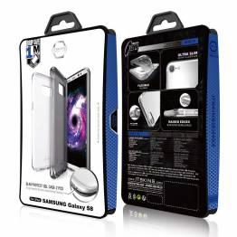 ITSKINS 2 Pack Gel Cover Samsung Galaxy S8 Gennemsigtigt sort