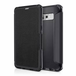 ITSKINS Spectra Book Cover til Samsung Glaxy S8 Sort