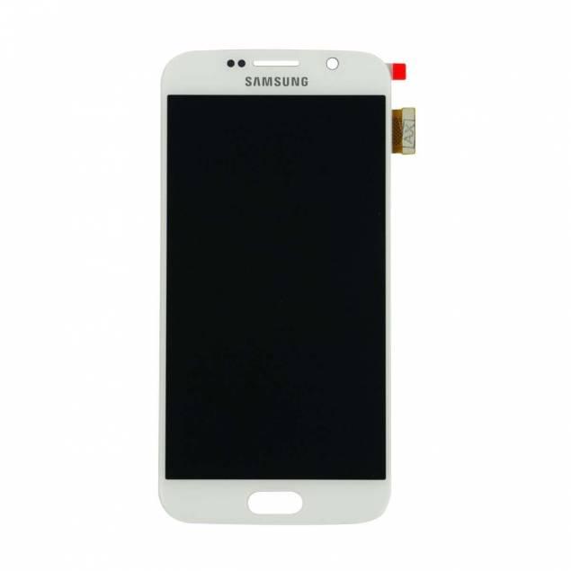Image of   Samsung Galaxy S6 skærm hvid. Original