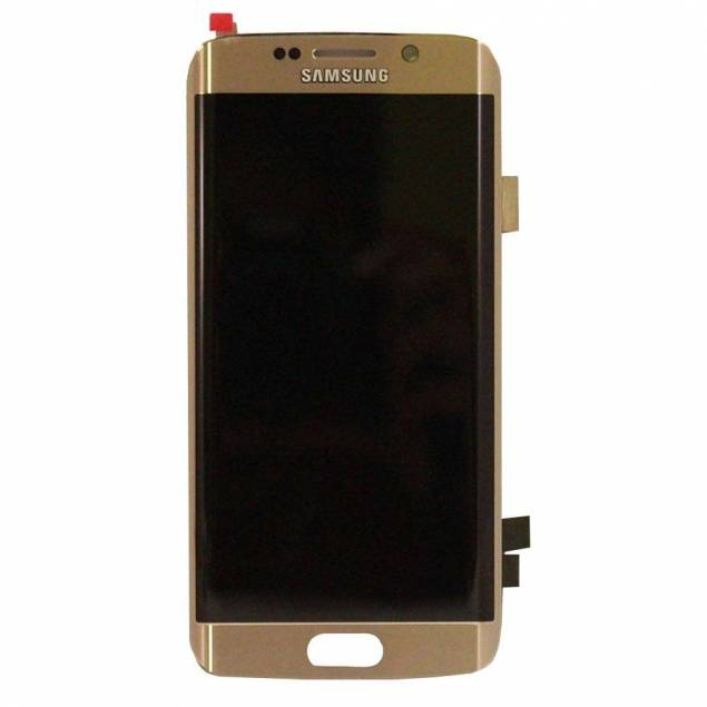 Image of   Samsung Galaxy S6 Edge guld. Semi original
