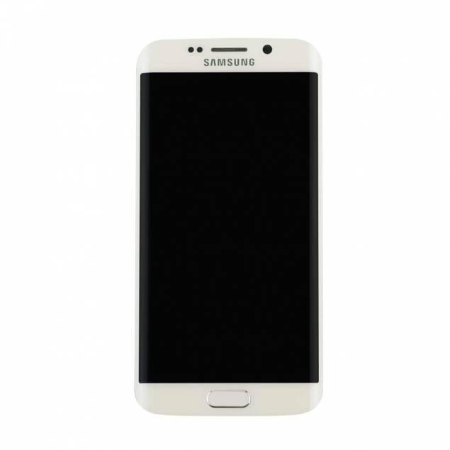 Image of   Samsung Galaxy S6 Edge skærm hvid. Original