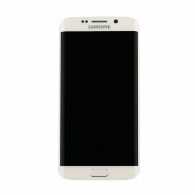 Image of   Samsung Galaxy S7 Edge skærm hvid. Original