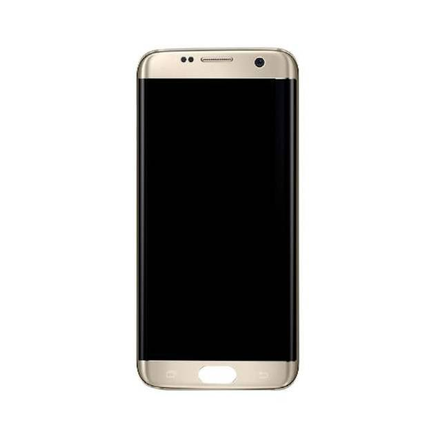 Image of   Samsung Galaxy S7 Edge skærm sølv. Original
