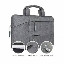 """Satechi Water-resistant Laptop Carrying cover with pockets 13"""" and 15"""" 15"""""""