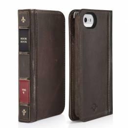 Twelve South BookBook til iPhone SE / 5 / 5s - iPhone Wallet Case