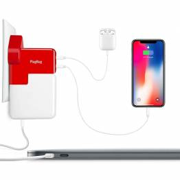 Twelve South PlugBug Duo - Supercharge your MacBook Charger