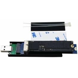 nVME SSD harddisk holder USB-C 3.1 & USB 3.0