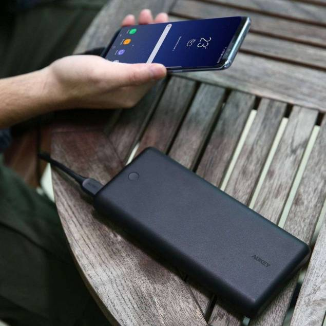 Image of Aukey 26.800 mAh Powerbank m. USB-C & USB-A 45W
