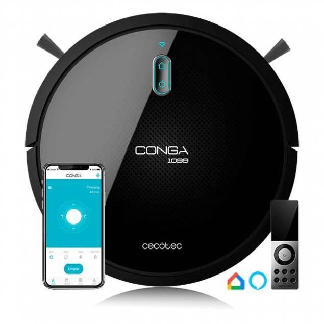 Image of   Conga 1099 Connected 2-i-1 robotstøvsuger og gulvvasker