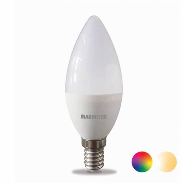 Marmitek Smart Wi-Fi LED E14 4,5W i varm hvid og 16 millioner