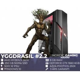 Gamer PC Yggdrasil 2.2 Ryzen 5 2600, GTX 1660