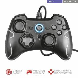 Trust Gaming GXT 560 Nomad Gamepad til PS3