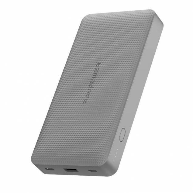 RAVPower 20.100mAh USB-PD 45W Powerbank i grå