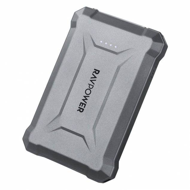 RAVPower Rugged 10.050 mAh Powerbank m. 18W USB-C PD