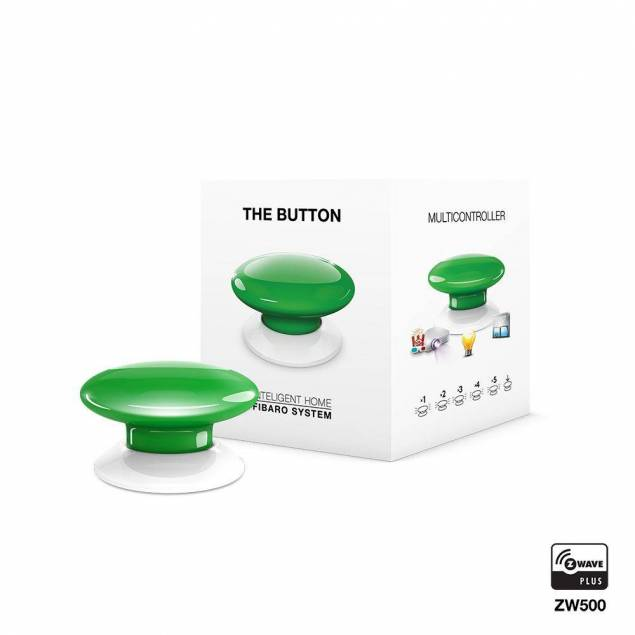 Fibaro The Button - green