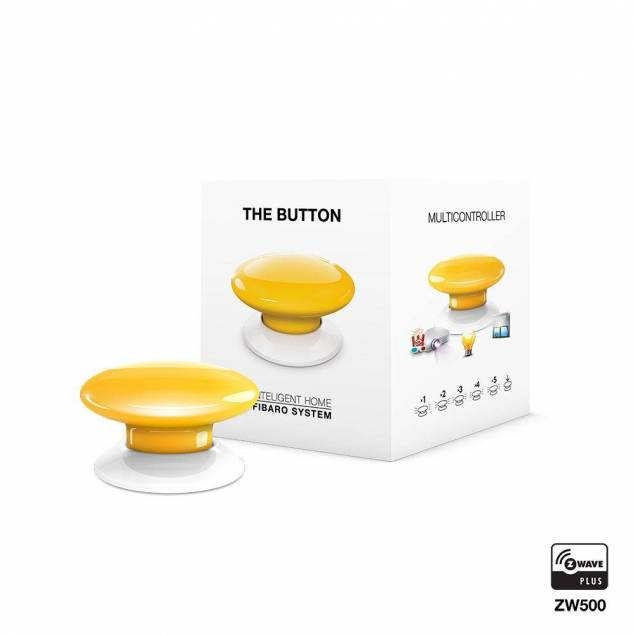 Fibaro The Button - yellow
