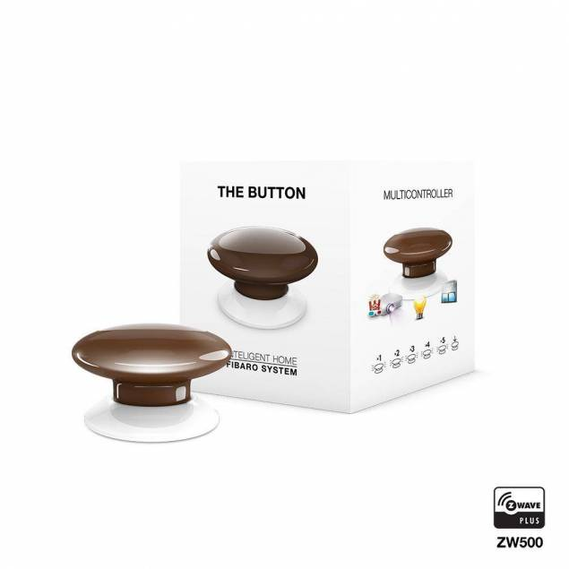Fibaro The Button - brown