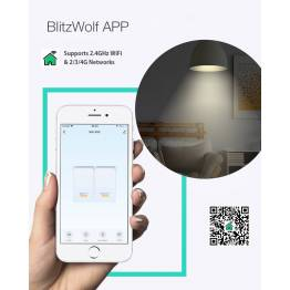 Blitzwolf BW-SS5 Smart Switch WiFi 1-gang relæ