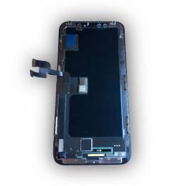 iPhone X Skærm Sort god kvalitet