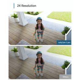 Eufy EufyCam 2 pro (3x kamera) med homekit