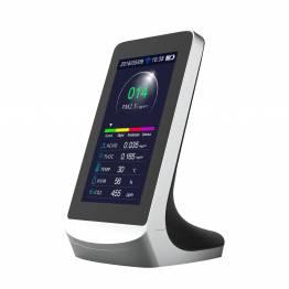 Digital luftkvalitetsmåler HCHO, TVOC, temperatur, Luftfugtighed, CO2