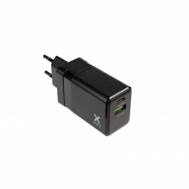 XTORM USB-C oplader 20W USB-C PD med EU,UK,US