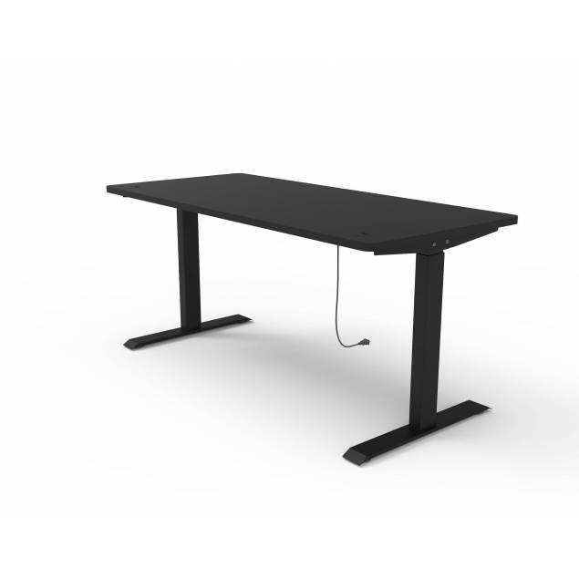 Nordic Office FlexiDesk Home hæve sænke bord sort 120x60cm