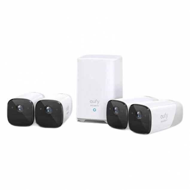 Eufy Eufycam 2 4-Cam Kit Overvågningssystem