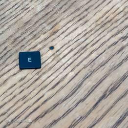 E knap til Macbook