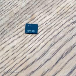OPTION ⎇ VENSTRE knap til Macbook