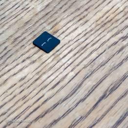 tuborg parentes og firkantet parentes mod højre knap til Macbook