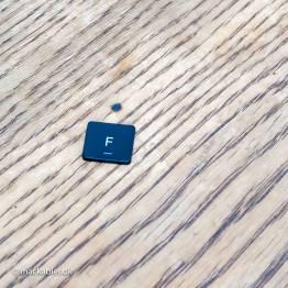 F knap til Macbook