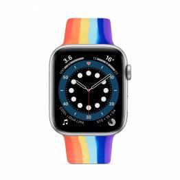 Apple Watch rem i silikone 42/44mm - Rainbow