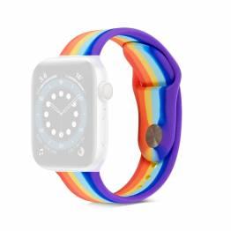 Apple Watch rem i silikone 38/40mm - Rainbow