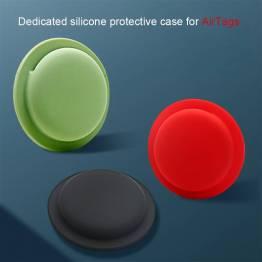 Selvklæbende AirTag holder i silikone - Lyserød