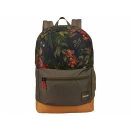 """Case Logic skoletaske med penalhus - 15,6"""" Mac/PC - Grøn med blomster"""