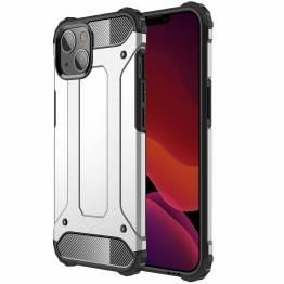"""Magic Armor iPhone 13 mini Håndværker cover 5,4"""" - Sølv"""