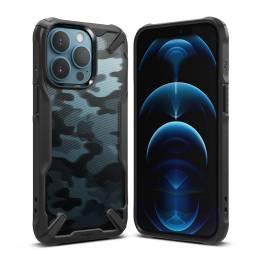 Ringke Fusion X iPhone 13 Pro hårdført cover - Sort camo