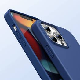 "Ugreen iPhone 13 Pro Max 6,7"" beskyttende silikone cover - blå"