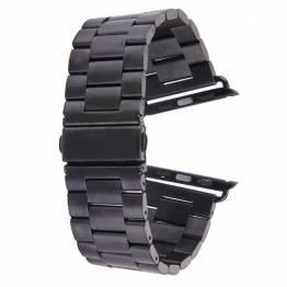 Apple Watch metal rem 42/44/45 mm - sort